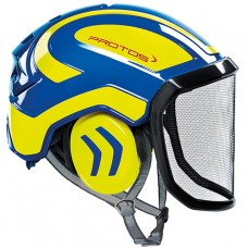 Protos Integral Arborist EN12492  Blue/Yellow