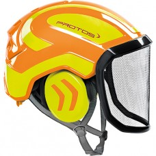 Protos Integral Arborist EN12492  Orange/Yellow