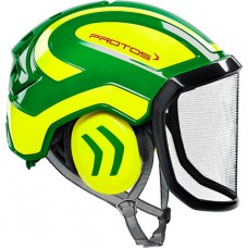 Protos Integral Arborist EN12492  Green/Yellow