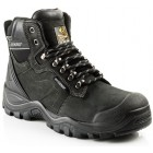 ** Autumn Promotion ** Buckler Waterproof Black Safety Hiker Boot