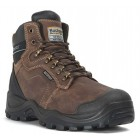 ** Autumn Promotion ** Buckler Waterproof Brown Safety Hiker Boot