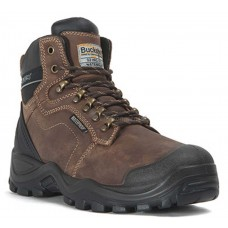 Buckler Buckshot Waterproof Brown Safety Hiker Boot