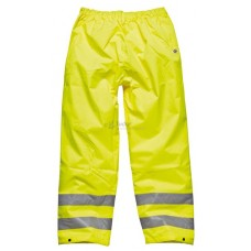 Hi-Vis Waterproof Trousers EN ISO20471, saturn yellow