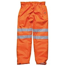 Hi-Vis Waterproof Trousers EN ISO20471,  orange
