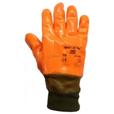 Ansell 23-491 Winter Hi-Viz™ PVC Gloves