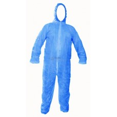 Semi-disposable Protective Coverall - Blue coloured
