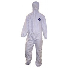 Tyvek 'Classic' Semi-disposable Protective Coverall - White coloured