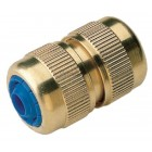 Hose to Hose Brass Quick Connector