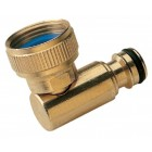 Revolving Elbow Brass Quick Connector