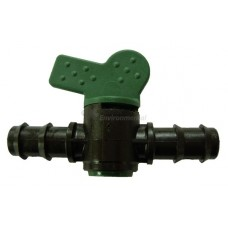 Plastic Barbed Fitting - Valve  - pack 10