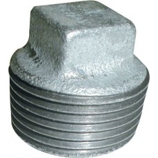 "Galvanised maleable iron Male ½"" Threaded Plug"