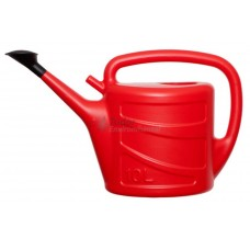 10 L Watering Can - plastic, red coloured