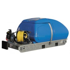 Skid Mounted Watering Unit with Petrol Engine