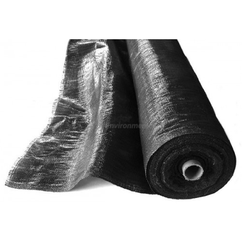 Black Woven Polypropylene Sheeting 1m X 100m