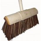 Contractor Yard Broom - bassine filled