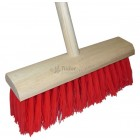 Contractor Yard Broom - poly filled
