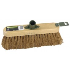 "Household Broom - 11½"" soft Coco filled - Head Only"