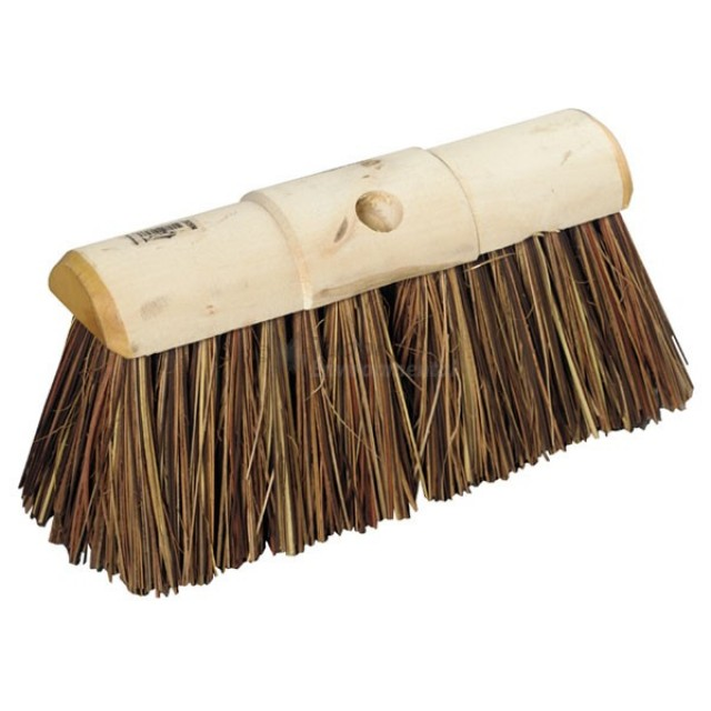 Yard Broom - Bass/Cane/Poly mix filled