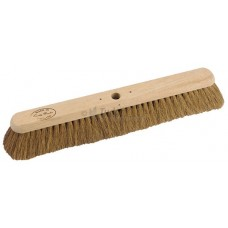 Platform Broom - soft Coco filled, 24""