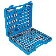 Mechanics Socket & Spanner Set, 90pc