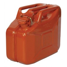 Steel Jerrican, 10 ltr size, Red
