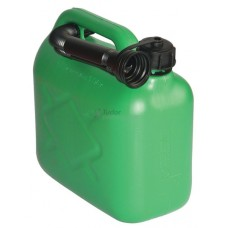 Plastic Fuel Can, 5 ltr size, Green