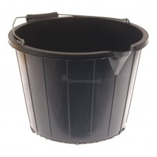 Industrial Black Bucket