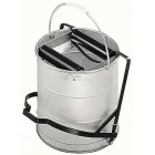 Galvanised Roller Operated Mop Bucket