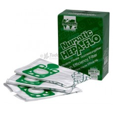 Replacement Filter Bags for Numatic HENRY Vaccum Cleaner