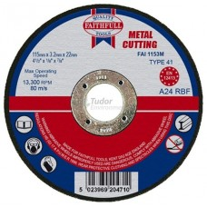 Faithfull Cutting-off Disc Wheel for metal - small