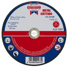 Faithfull Cutting-off Disc Wheel for metal - large