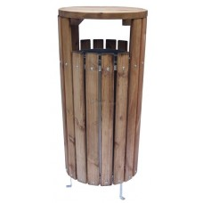 MANOR Litter Bin - wooden