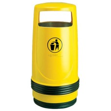 MERLIN Litter Bin - without hood lock -heavy-duty plastic