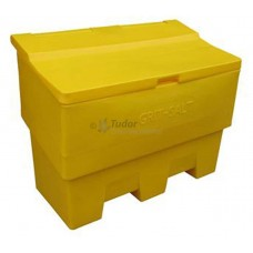 Salt and Grit Bin, Yellow, Large (400 Ltr)