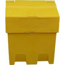 Salt and Grit Bin, Yellow, Small (200 Ltr)