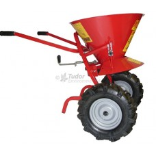 Pedestrian Rock Salt Spreader - heavy duty