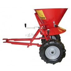 Towed Rock Salt Spreader - heavy duty