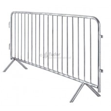 Galvanised Metal Crowd Control Barrier