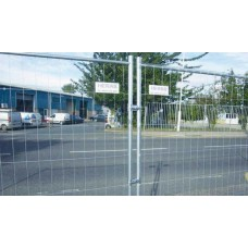 Heras Standard Metal Fence Panel