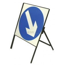 Reversible Arrow Angle-Iron Sign, 600mm