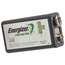 Energiser Rechargable 9V Batteries, pk 1