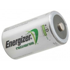 Energiser Rechargable D Batteries, pk 2