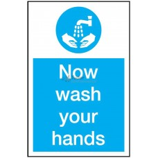 Sign 200x300mm, Wash your Hands