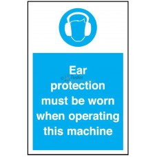 Sign 200x300mm, Ear Protection