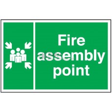 Sign 300x200mm, Fire Assembly Point