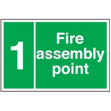 Sign 600x400mm, Fire Assembly Point