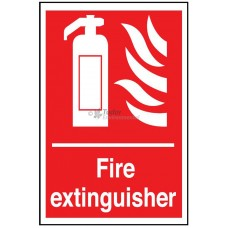 Sign 200x300mm, Fire Extinguisher