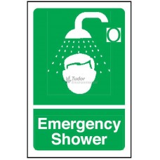 Sign 200x300mm, Emergency Shower