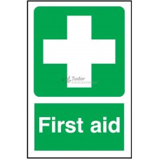 Sign 200x300mm, First Aid