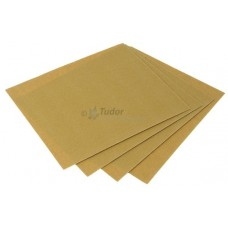 Glass Paper Sanding Sheets, pack of 5